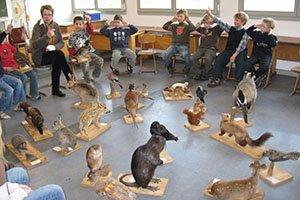 Die rollende Waldschule der Kreisjägerschaft